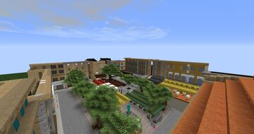 Arles street (french town) Minecraft Map & Project