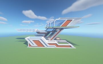Modern Build 6 Minecraft Map & Project
