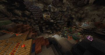 1.17 Active Cave Mining Minecraft Map & Project