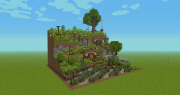 House Hobbit Minecraft Map & Project