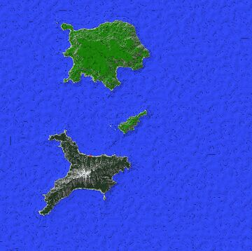 Isla De Tres (1.2 - 1.12.2 WorldPainter map) Minecraft Map & Project