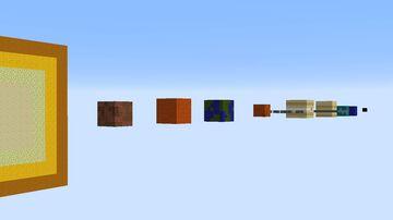 Minecraft Cube Solar System Minecraft Map & Project