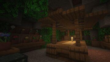 Flower Cave Shop Build Idea - [Japanese Theme] Minecraft Map & Project