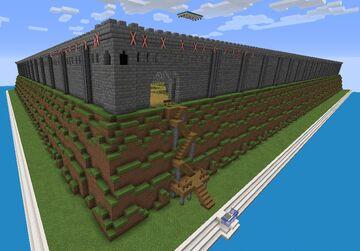 Castle Maze (3 levels!)   Maze Making Contest Minecraft Map & Project