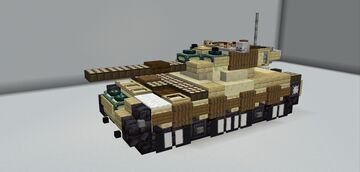 Merkava Mk.1 Minecraft Map & Project