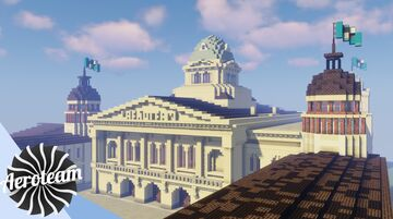 Aeroteam Presidential Palace Minecraft Map & Project