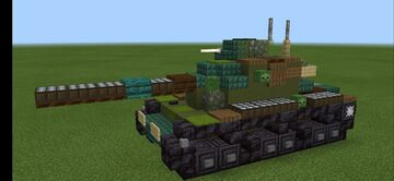 M60A1 Minecraft Map & Project