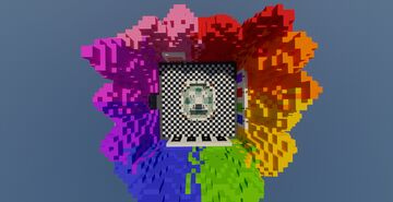 Lucky Wars + Lucky Blocks Data Pack Minecraft Map & Project