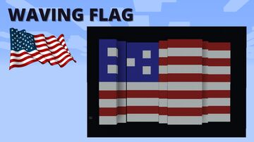 Waving Flags Minecraft Map & Project
