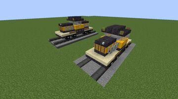 Whitcomb 80 DE-8 Locomotive Minecraft Map & Project