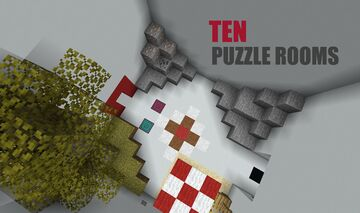 Ten Puzzle Rooms Minecraft Map & Project