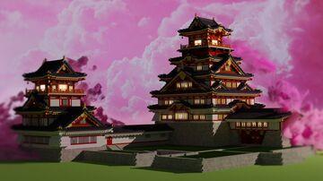 Fushimi Castle, Kyoto - 伏見城 Minecraft Map & Project