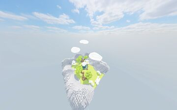 Lobby ❯ Flying fountain  Map Minecraft Map & Project