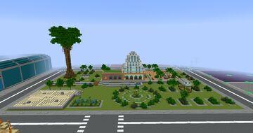 Tropico 6 Botanical Garden Minecraft Map & Project