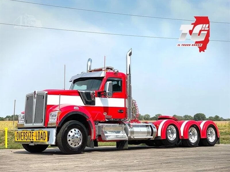 Kenworth W990, Triaxle Truck [With Download]