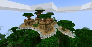 Apple Tree House Base Minecraft Map & Project