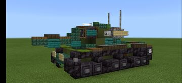 M60A2 Minecraft Map & Project