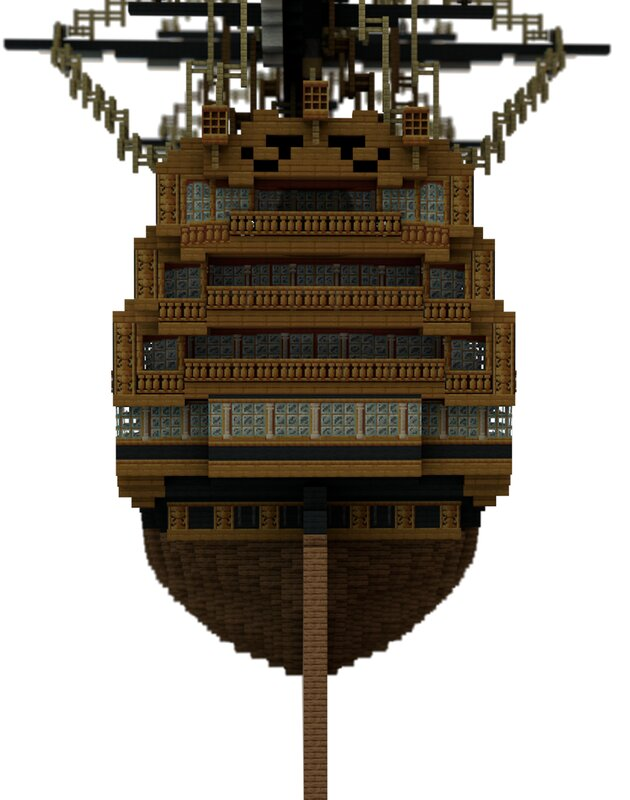 Stern superstructure