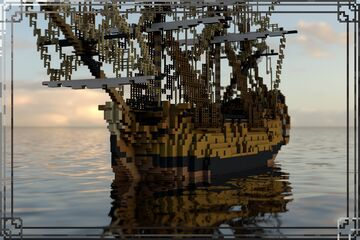 HMS Victory (1737) Minecraft Map & Project