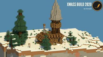 A cozy cabin for the winter Minecraft Map & Project