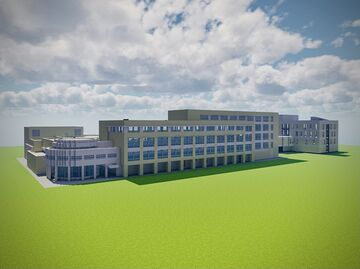 Naveen Jindal School of Management (JSOM), UT Dallas Minecraft Map & Project