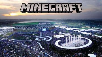 PHILIPPINE ARENA IN MINECRAFT 1:1 SCALE (Work in Progress) Minecraft Map & Project