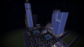 New World Trade Center (2021) Minecraft Map & Project