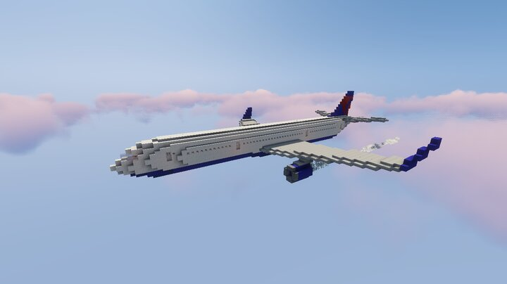 The 757 flying