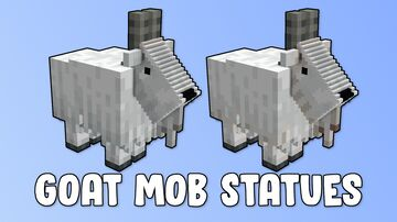 Goat Mob Statues Minecraft Map & Project