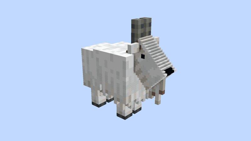 Cream Goat