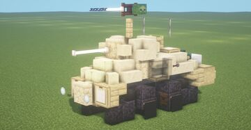SARC Mk. VI (6pdr) (1.5:1 Scale) Minecraft Map & Project