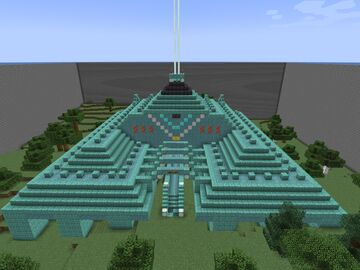 Drained Monument Minecraft Map & Project