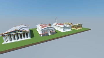 Parthenon through the ages 16.5 Minecraft Map & Project