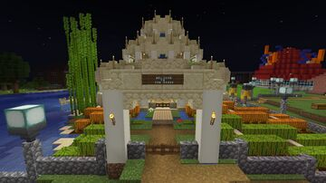 The Oasis Minecraft Map & Project