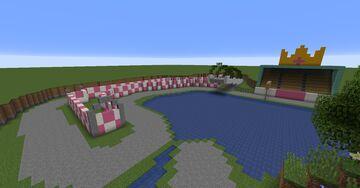 Mario Kart - N64 Royal Raceway and GCN Yoshi Circuit Map bundle Minecraft Map & Project