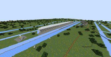 F1 Zandvoort Ice Boat Racing Track Minecraft Map & Project
