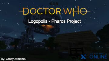 Pharos Project - Logopolis - Doctor Who Online Minecraft Map & Project
