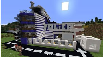 Police Station And Prios Minecraft Map & Project