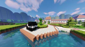 DS Peach Gardens - Mario Kart Minecraft Map & Project