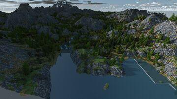Autumn season map.2k by 2k. Minecraft Map & Project