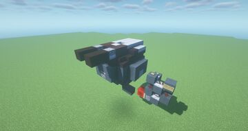 BMT  -  Brawling TNT Cannon ( Adjustable Arc   Movecraft Compatible   Turret ) Minecraft Map & Project