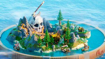 Viking Skull Island KitPvP Map - By Xayden Minecraft Map & Project