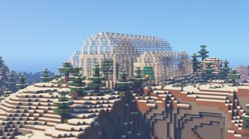 The Plant Museum - Built in Survival Minecraft Map & Project