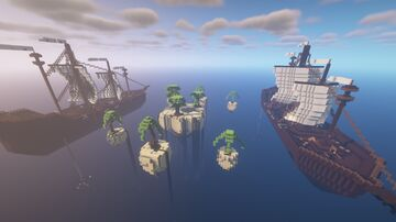 Ships Ahoy! - Multiplayer CTW Map Minecraft Map & Project