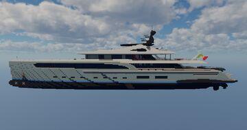 Yacht SPERANZA made by Mathys Minecraft Map & Project