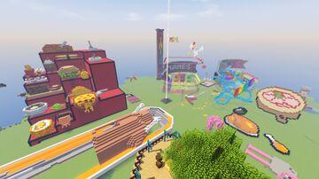 Cute Creative Community World   Vanilla Edge Minecraft Map & Project
