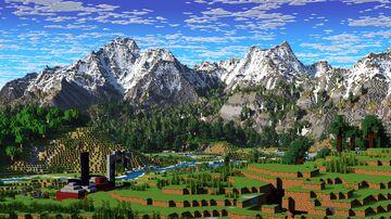 Kekanro - Islands, Alpines and Villages (Download, 4k, 1.17+,Java & Bedrock, Multibiome Minecraft Survival World) Minecraft Map & Project