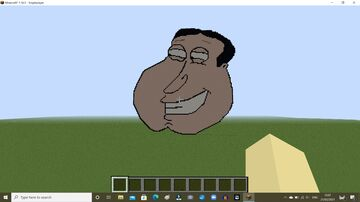 Quagrmire (Family guy) Minecraft pixel art Minecraft Map & Project