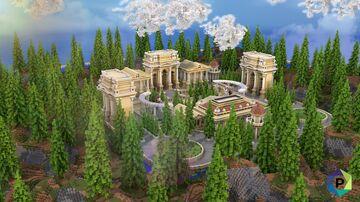 Roman Empire Hub [600x600]   1.8+ Minecraft Map & Project