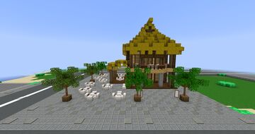 Tropico 5 Restaurant Minecraft Map & Project